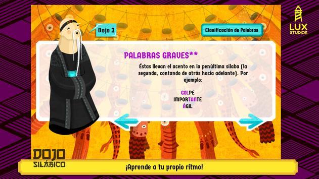 Dojo Silábico screenshot 21