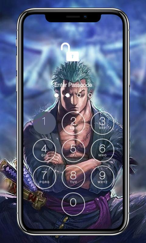 Lock Screen Zoro Wallpaper Phone