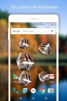 3D Cube live wallpaper apk screenshot