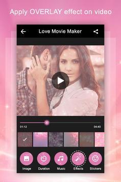 Love Video Maker with Music apk screenshot