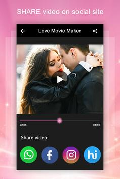 Love Video Maker with Music screenshot 5
