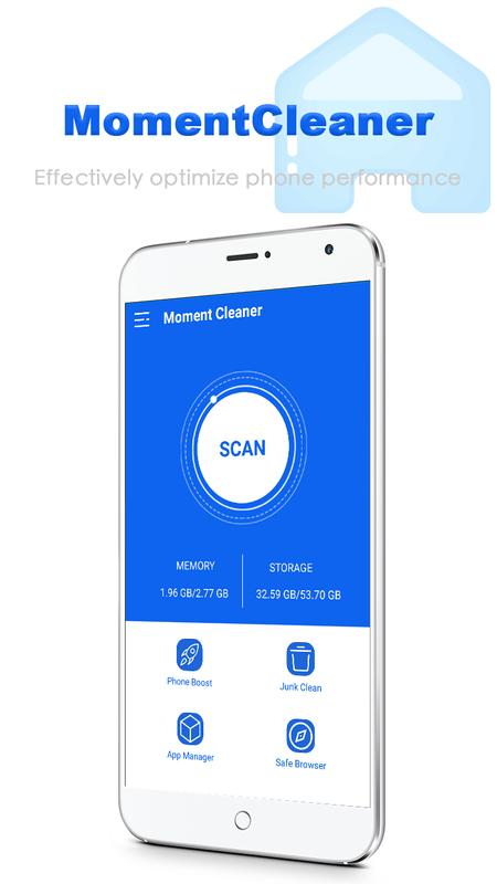 Moment Cleaner for Android