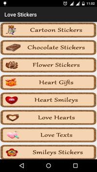 Love Smileys Stickers watsapp screenshot 1