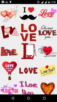 Love Smileys Stickers watsapp screenshot 7