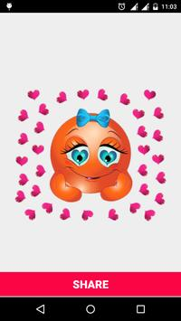 Love Smileys Stickers watsapp screenshot 8