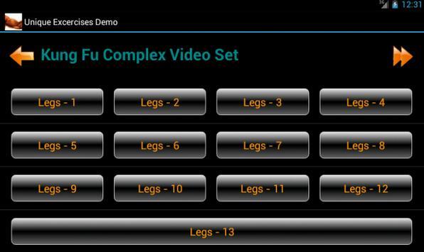 Unique Sport Exercises Demo apk screenshot