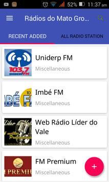 Rádios do Mato Grosso do Sul poster