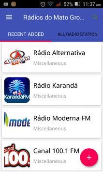 Rádios do Mato Grosso do Sul apk screenshot