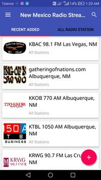 New Mexico Radio Stations poster
