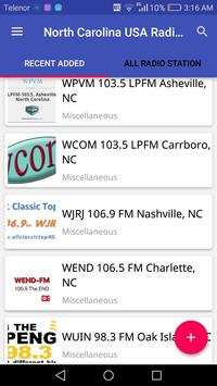 North Carolina Radio Stations apk screenshot