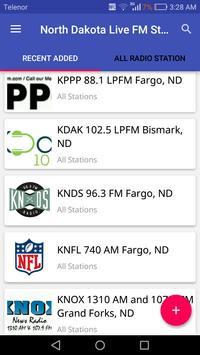 North Dakota Radio Stations poster
