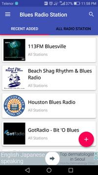 Blues Radio Station poster