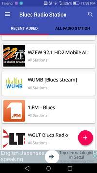 Blues Radio Station apk screenshot