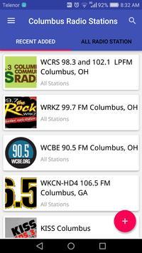 Columbus Radio Stations poster