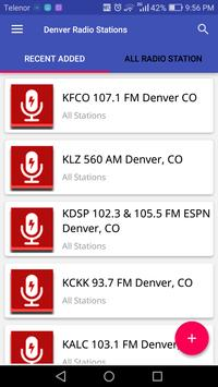 Denver Radio Stations poster