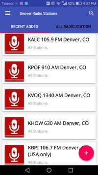 Denver Radio Stations screenshot 1