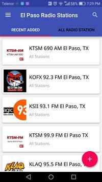 El Paso Radio Stations poster