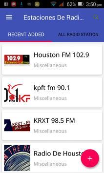 Estaciones De Radio Gratis En Houston TX Poster