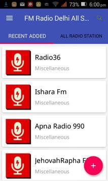 FM Radio Delhi All Stations poster