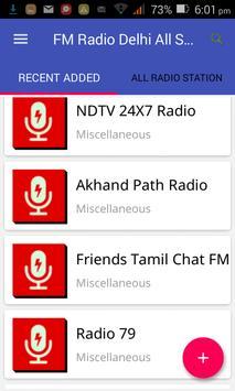 FM Radio Delhi All Stations screenshot 4