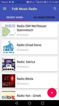Folk Music Radio poster