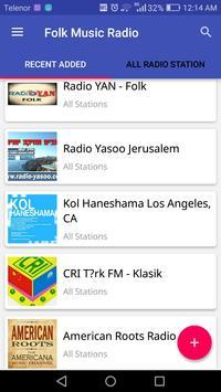 Folk Music Radio apk screenshot