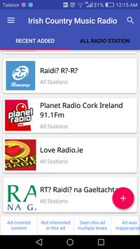 Irish Country Music Radio screenshot 1