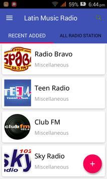 Latin Music Radio poster