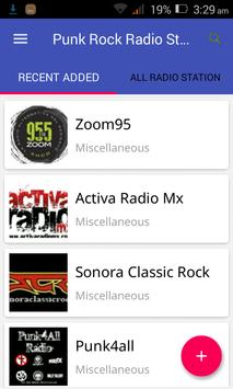 Punk Rock Radio Station screenshot 1