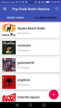 Pop Punk Radio Stations screenshot 1