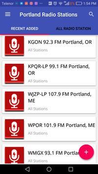 Portland Radio Stations screenshot 2