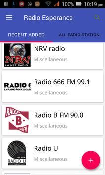 Radio Esperance All Stations screenshot 4