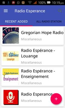 Radio Esperance All Stations screenshot 1