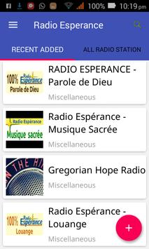Radio Esperance All Stations screenshot 2