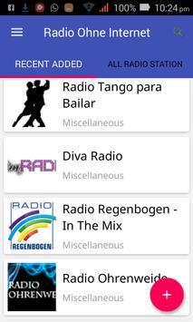 Radio Ohne Internet apk screenshot
