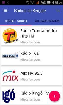Rádios de Sergipe poster