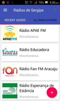 Rádios de Sergipe apk screenshot