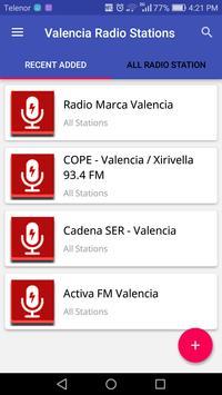 Valencia Radio Stations poster
