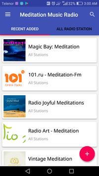 Meditation Music Radio poster