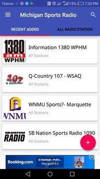 Michigan Sports Radio Stations poster