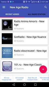 New Age Radio poster