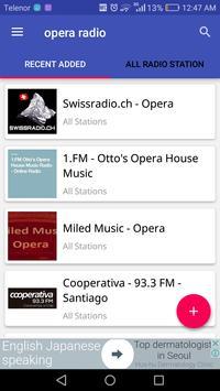 Opera Radio poster
