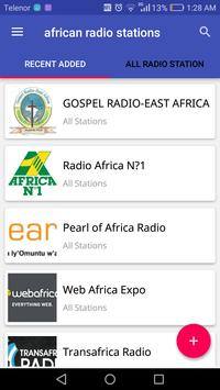 African Radio Stations poster