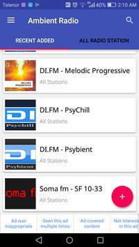 Ambient Radio apk screenshot