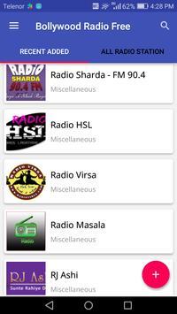 Bollywood Radio Free poster