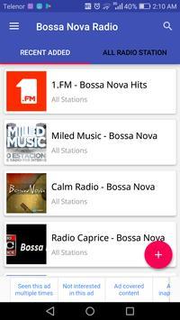 Bossa Nova Radio poster
