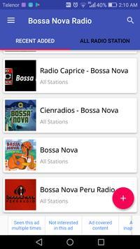 Bossa Nova Radio apk screenshot