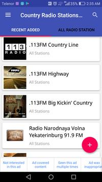 Country Radio Stations Free apk screenshot