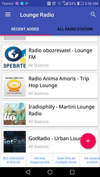 Lounge Radio Stations apk screenshot