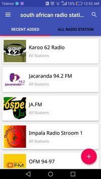 South African Radio Stations poster